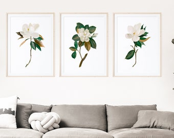 Wall Art - Botanical Prints - Wall Hanging - Prints - Home Decor - Gift for her - Wall Art Print - Vintage -  Rustic Decor - Farmhouse Decor