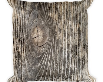pillow cover 18x18 nature decor rustic