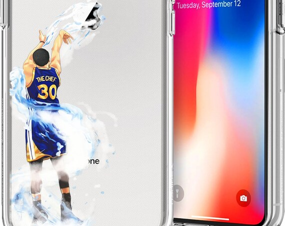 Splash Curry Basketball Series Clear TPU Case for Apple iPhone XS/XS Max; X; 8/8 Plus; 7/7 Plus; 6s/6s Plus; 5s/5SE