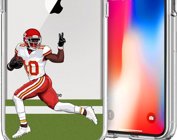 Cheetah Tyreek Hill Football Series Tpu Case for Apple iPhone XS/XS Max; X; 8/8 Plus; 7/7 Plus; 6s/6s Plus; 5s/5SE