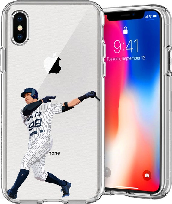 The Judge Baseball Series Transparent TPU Case for Apple iPhone XS/XS Max; X; 8/8 Plus; 7/7 Plus; 6s/6s Plus; 5s/5SE