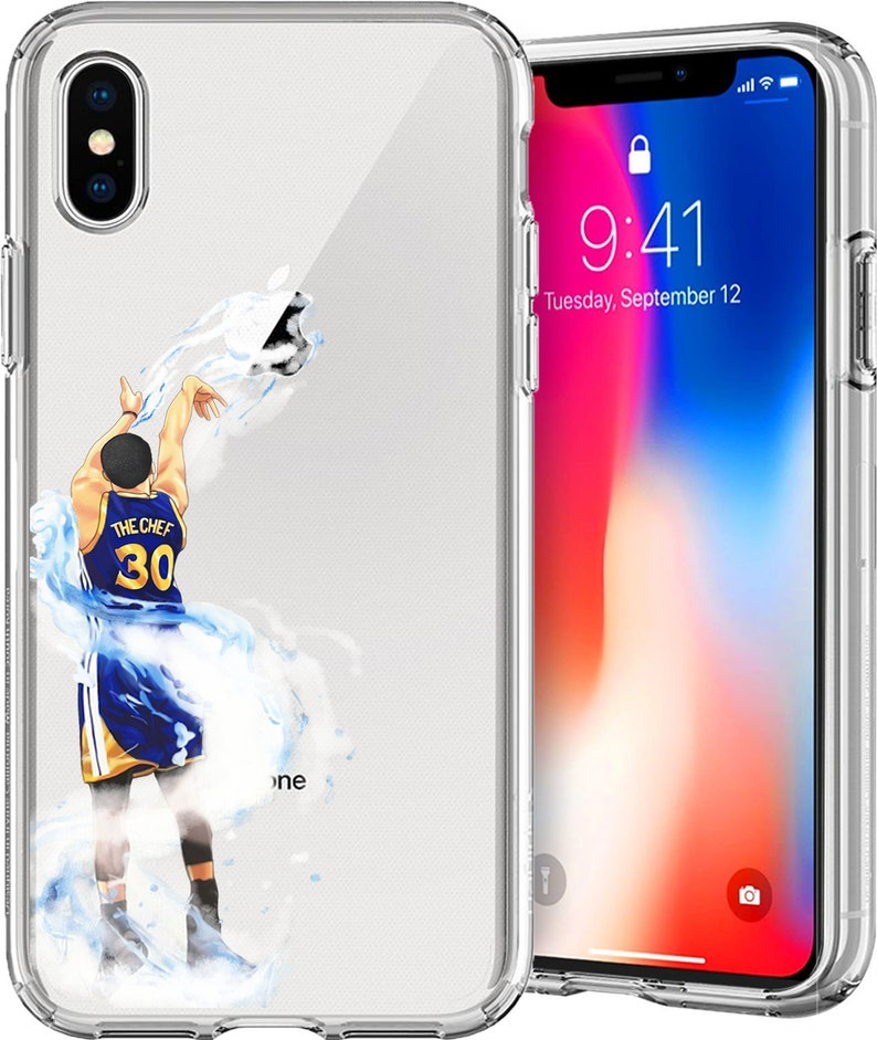check out 55894 3d5d0 Splash Curry Basketball Series Clear TPU Case for Apple iPhone XS/XS Max;  X; 8/8 Plus; 7/7 Plus; 6s/6s Plus; 5s/5SE