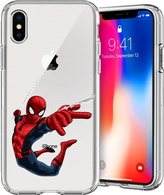 Spider Man SuperHero Series Tpu Case for Apple iPhone XS/XS Max; X; 8/8 Plus; 7/7 Plus; 6s/6s Plus; 5s/5SE