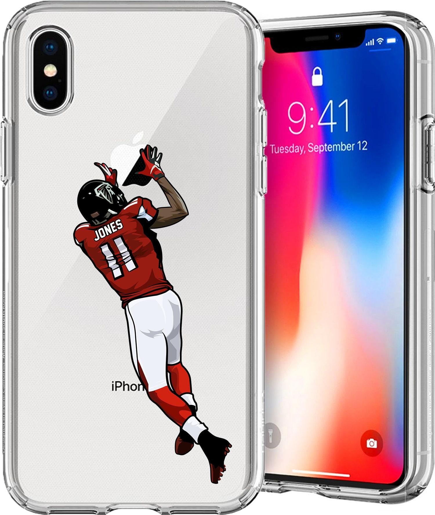 buy popular c2a2a 7b3a8 J. Jones 11 Football Series Tpu Case for Apple iPhone XS/XS Max; X ...
