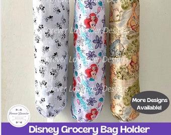 Disney Grocery Bag Holder, Plastic Bag Holder, Bag Storage, Grocery Bag Dispenser, Bag Organizer, Kitchen Storage, Housewarming Gift