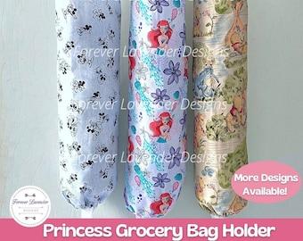 Princess Grocery Bag Holder, Plastic Bag Holder, Bag Storage, Grocery Bag Dispenser, Bag Organizer, Kitchen Storage, Housewarming Gift