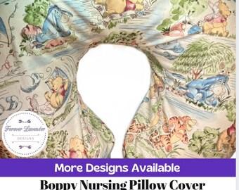 Disney Pillow Cover for Nursing Pillow, Nursing Pillow Cover, Pooh Nursing Pillow Cover, Mickey Mouse Nursing Pillow Cover, Baby Shower Gift
