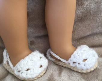 American Girl Doll Espadrilles (Shoes)