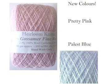Gossamer Fine Wool 4.25/25g ~ limited stocks