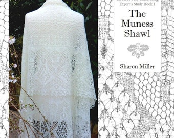 The  Muness Shawl  Masterclass ~ book and pdf ~ free shipping