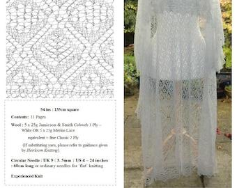 The Rosebud Shawl ~ Heirloom Knitting pdf ~