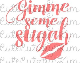 Southern Sayings SVG-Gimme some sugah