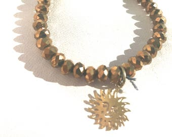Golden Sun Stretch Bracelet