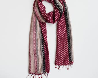 The Giving Heart:  a Laura Eastman Exclusive Beaded Scarf