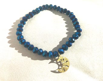 Blue Moon Stretch Bracelet