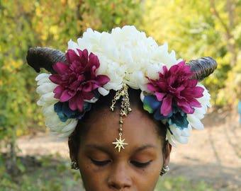 Horned Flower headdress