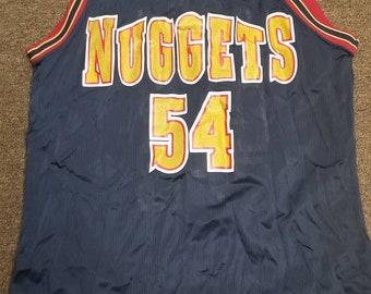Size 44 champion Denver nuggets jersey 799356b1e