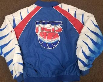 0555136c9bf Original 90s New jersey Nets champion jacket Brooklyn nets warm up jacket