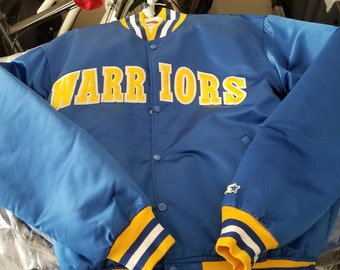 f9e1622e301 Golden State warriors jacket golden state warriors starter jacket size XL