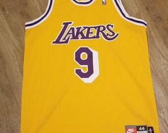 81a43295758 1997-98 Nick van exel jersey nike jersey,lakers jersey, Nike jersey size  44, Lakers jersey
