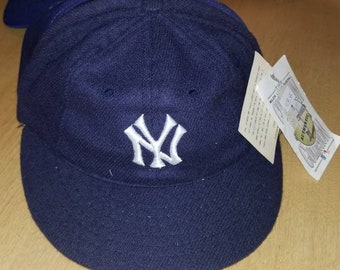 1922- 1930 New York Yankees hat roman cooperstown hat size 7 new vintage  wool hat c3041b3ed88