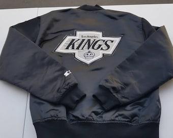 Large LA Kings starter jacket 80s 90s starter jacket 8fd3326c4d79