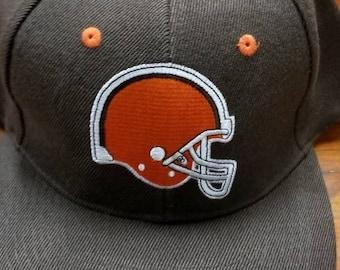 detailed look f107f 5064c New original Cleveland browns snapback hat ,90s, nfl snapback hat,vintage  nfl