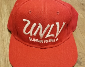 11bbfb0c0bb cleaned reshaped 90s UNLV REBELS sports specialties snapback hat