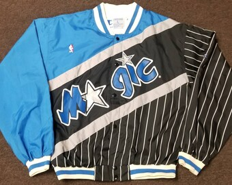 17a70456392 Original Mens LARGE Orlando Magic champion warm up jacket