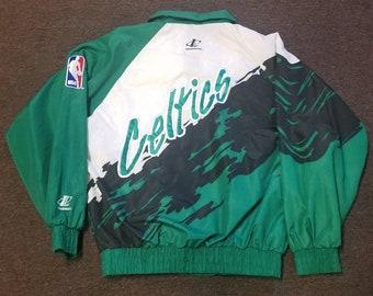 14498668565 Used MEDIUM Boston Celtics jacket
