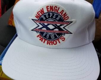 6c140b44 New England patriots sports specialties hat,superbowl 20 superbowl xx,  vintage nfl snapback, patriots 80s hat cap snapback