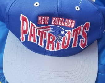 54ed1967 90s New England patriots hat snapback vintage nfl snapback, patriots 90s  hat cap snapback