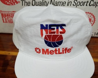 huge discount 10ecc 517ba New original 1980s New Jersey nets hat Brooklyn nets hat snapback SGA