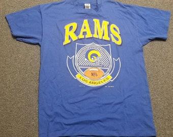e0fd55db XL LA Rams shirt 90s Logo 7 shirt, New vintage tee shirt,vintage Los  Angeles rams vintage shirt