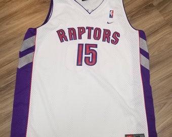 055ddba3122 Xl 1998-1999 Vince Carter Nike Toronto Raptors Jersey swingman jersey