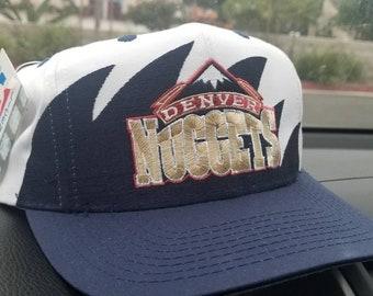 promo code cc2b5 d6cfa New original 1994 Denver Nuggets logo athletic hat ,1994 nba draft hat  Denver Nuggets hat TWILL