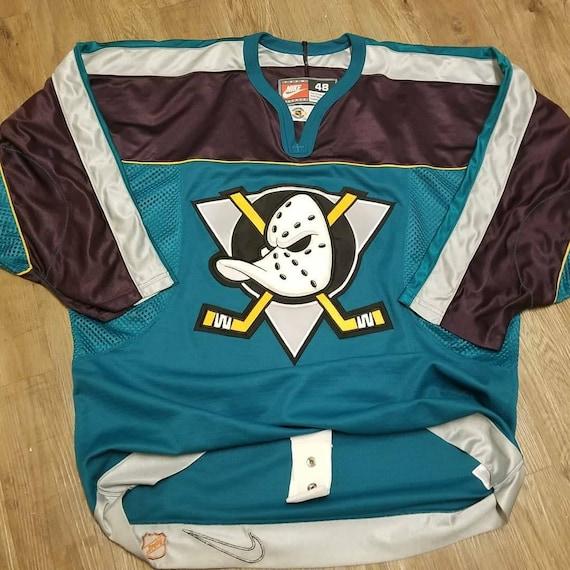 6717ede1d Size 48 XL Mighty ducks jerseyanaheim ducks jersey