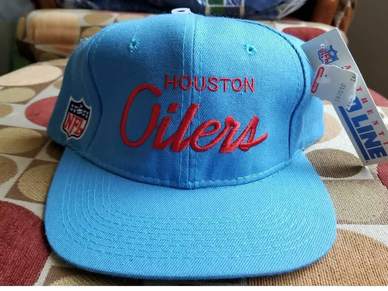 a762263585c New vintage Houston oilers snapback youngan snapback youngan