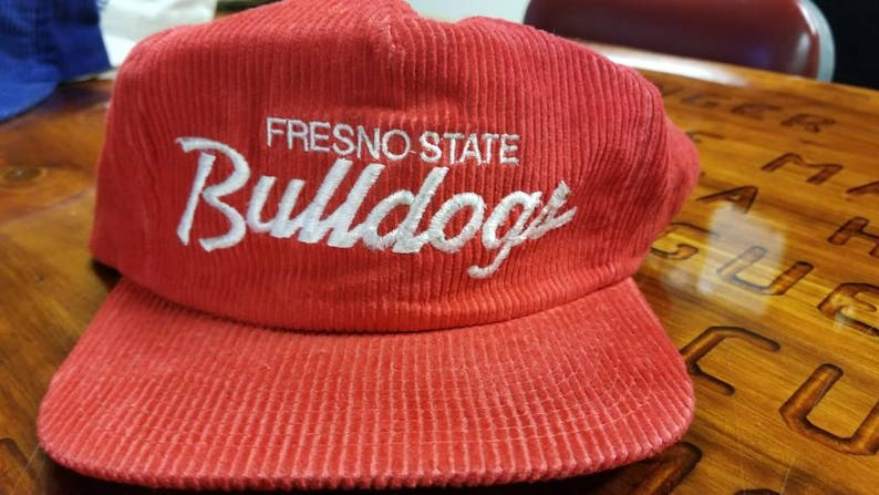 Fresno state bulldogs sports specialties hat rare 90s sports  b778aaf0e