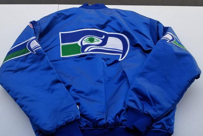 buy popular 5cba0 cd5ed 90s Size XL Seattle Seahawks starter jacket proline original