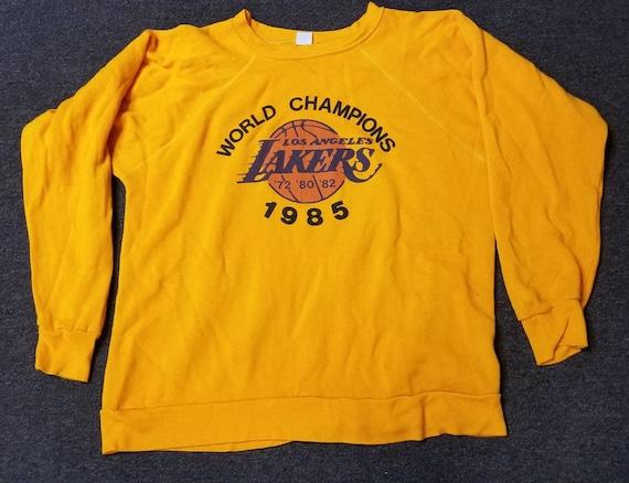 1985 large LA Lakers sweatshirt LA lakers crewneck