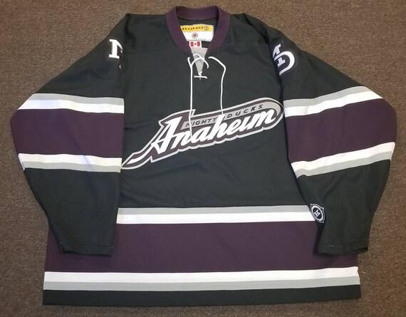 new styles c2c1e fd407 Mighty ducks jersey,anaheim ducks jersey, 90s, 2XL, koho jersey,nhl hockey  jersey deadstock