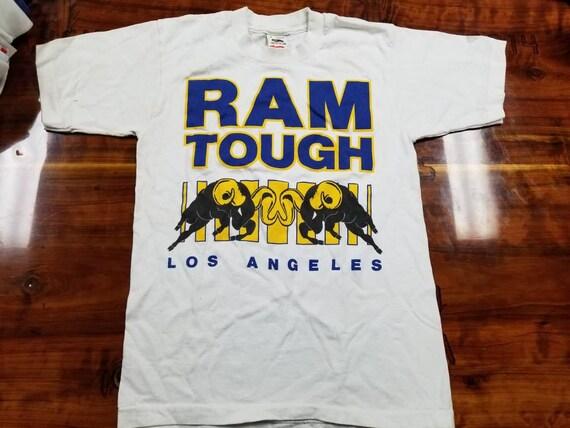 14e40453 Mens small LA Rams shirt 80s tee New vintage tee | Etsy