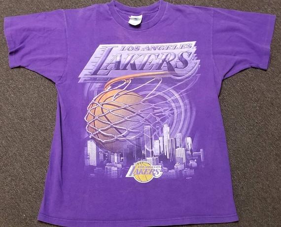 90s medium LA Lakers shirt, LA lakers tee, los ang