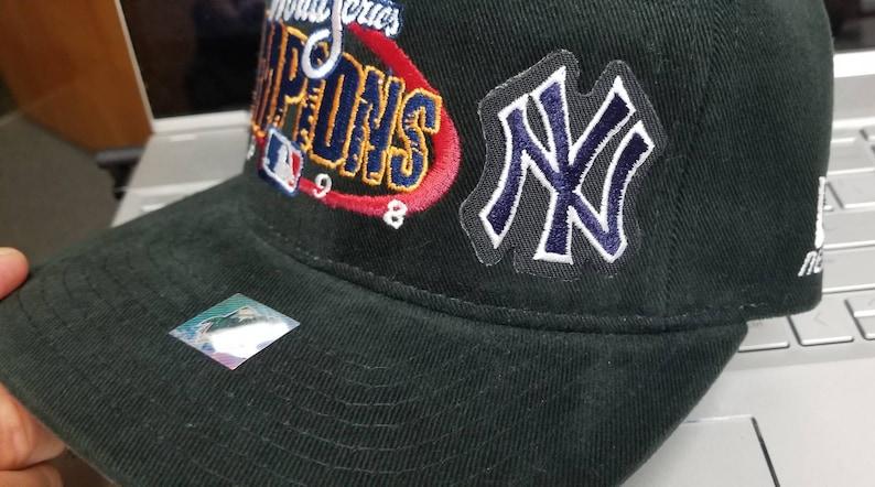 New original 1998 New Yankees hat,1998 New York Yankees world series hat 90s Yankees hat Yankees locker room hat