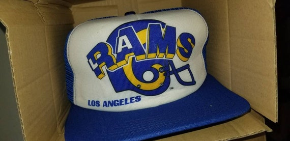 New original LA Rams snapback hat, vintage la Rams