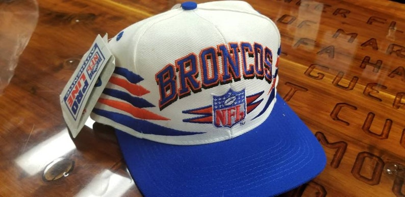 fefadfee Denver Broncos logo athletic hat snapbackNEW with original | Etsy