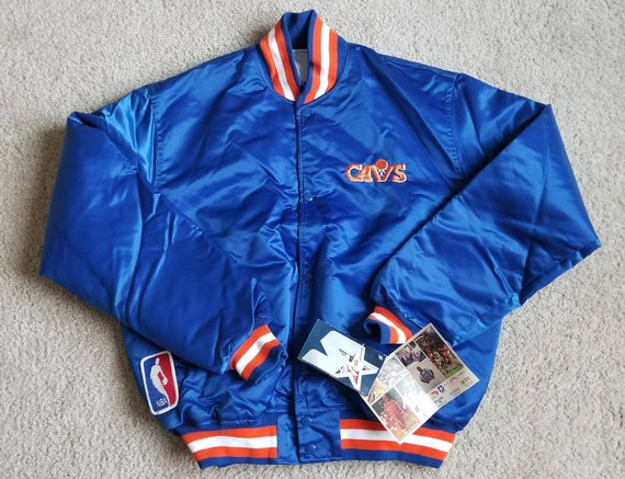 90s New XL cleveland cavaliers starter jacket 80s