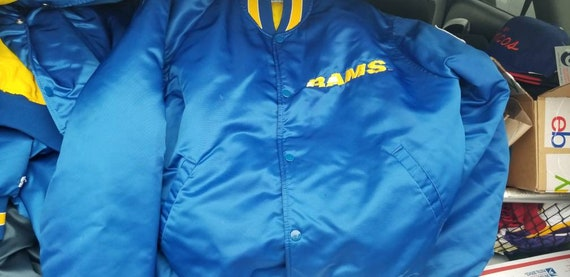 True XL LA Rams starter jacket,90s, vintage starte
