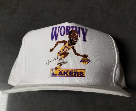 New original 1987-88 vintage LA Lakers hat Salem s
